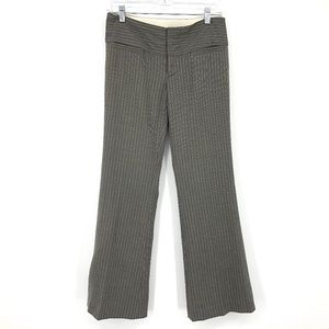Alice + Olivia Striped Wool Trousers